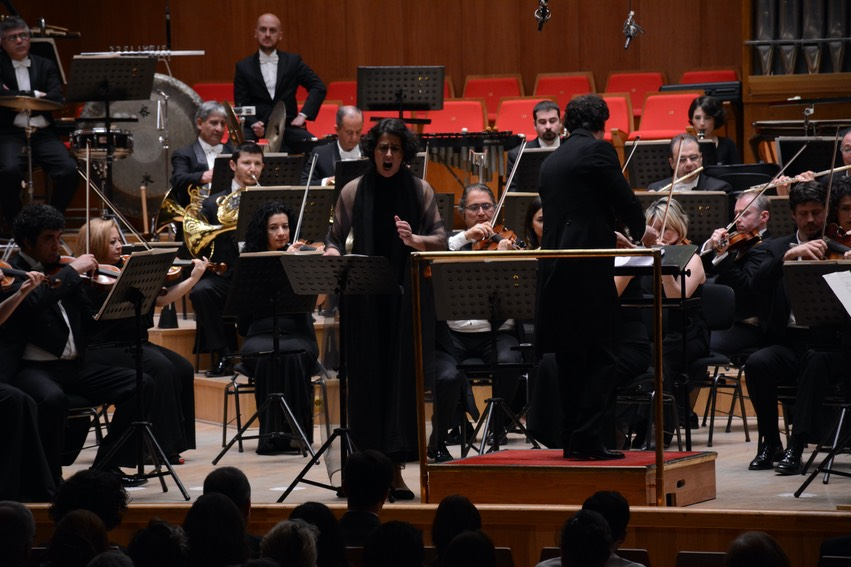 Bartok Festival in Ankara - April 30, 2015 - closing concert with the Preesidential Symphonic Orchestra (CSO), conducted by Gergely Madaras
